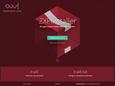 Zxp installer