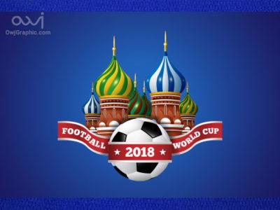 پوستر جام جهانی روسیه | WorldCup 2018